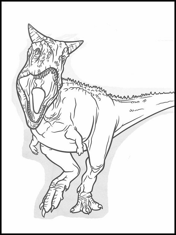 Coloriage Jurassic World 11 Como Dibujar Un Dinosaurio Dinosaurios Para Pintar Dinosaurios Para Dibujar
