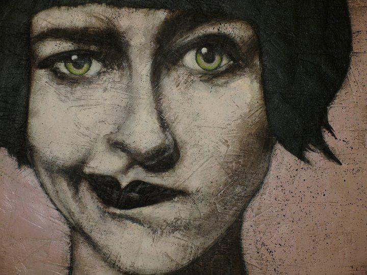 painting Fabio Mingarelli a.k.a. MING