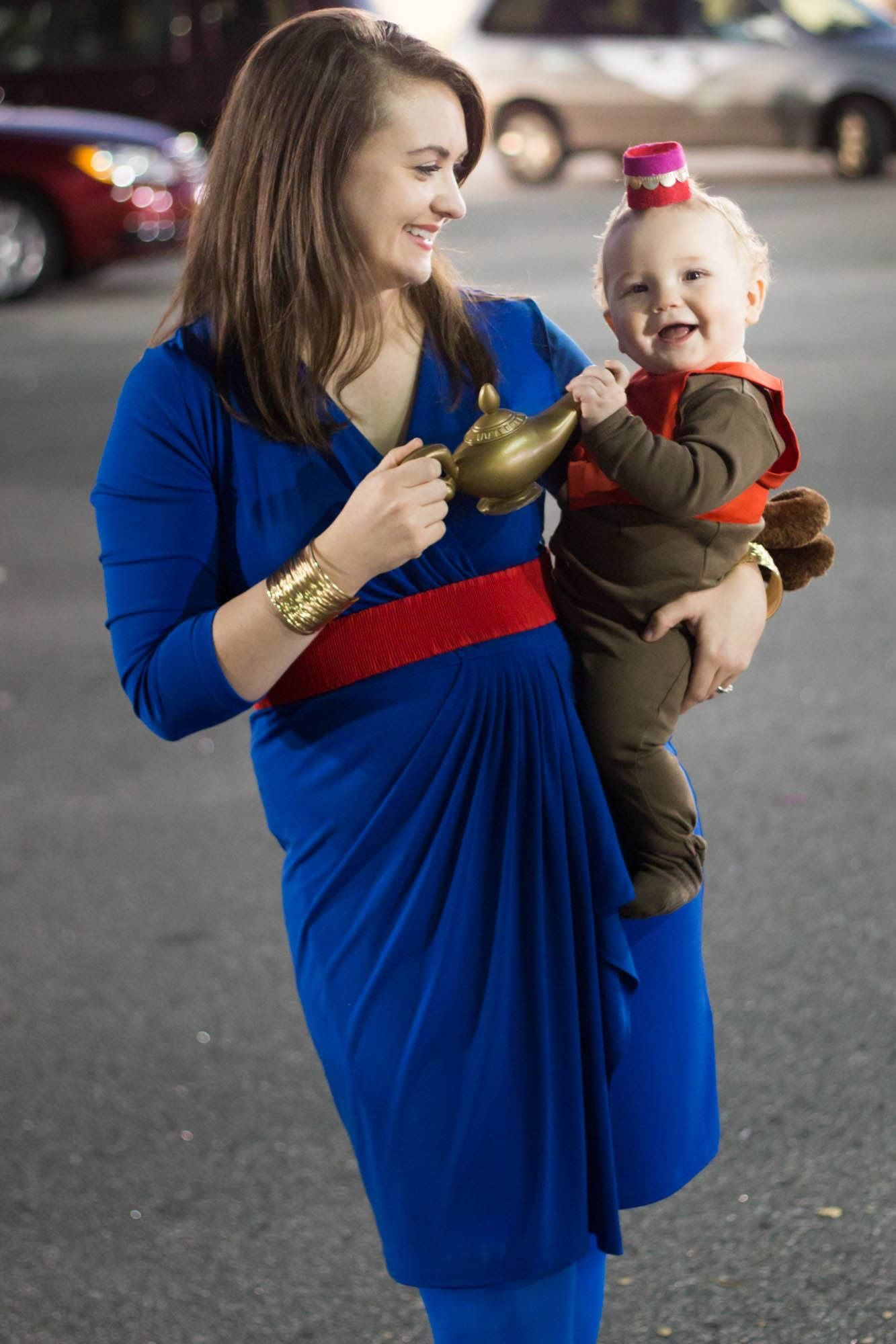 Mother and Baby Halloween Costume. Disney Aladdin Abu and The Genie.  sc 1 st  Pinterest & Mother and Baby Halloween Costume. Disney Aladdin Abu and The Genie ...