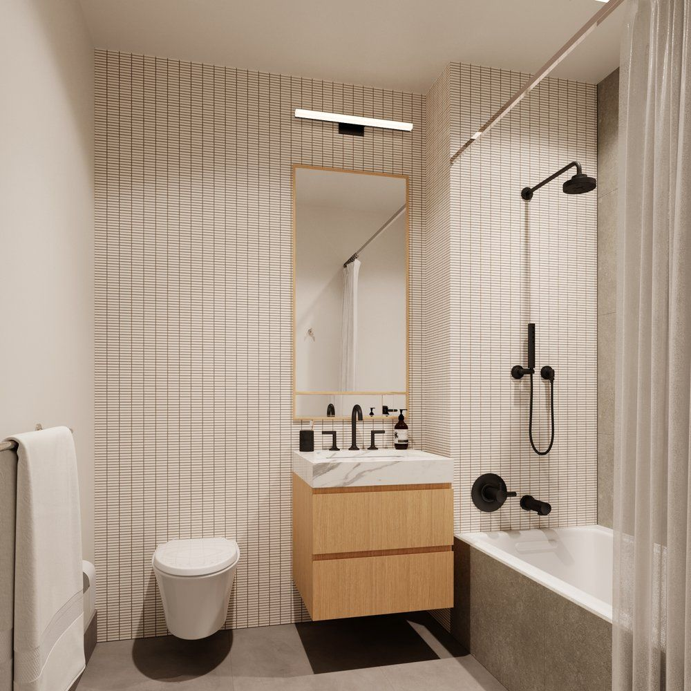 Fort Greene Condominium Building Bathroom By Alchemy Studio
