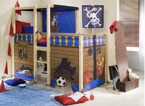 Etagenbett Piratenschiff : Kinderzimmer gestalten u ein echtes piratenschiff lädt zu