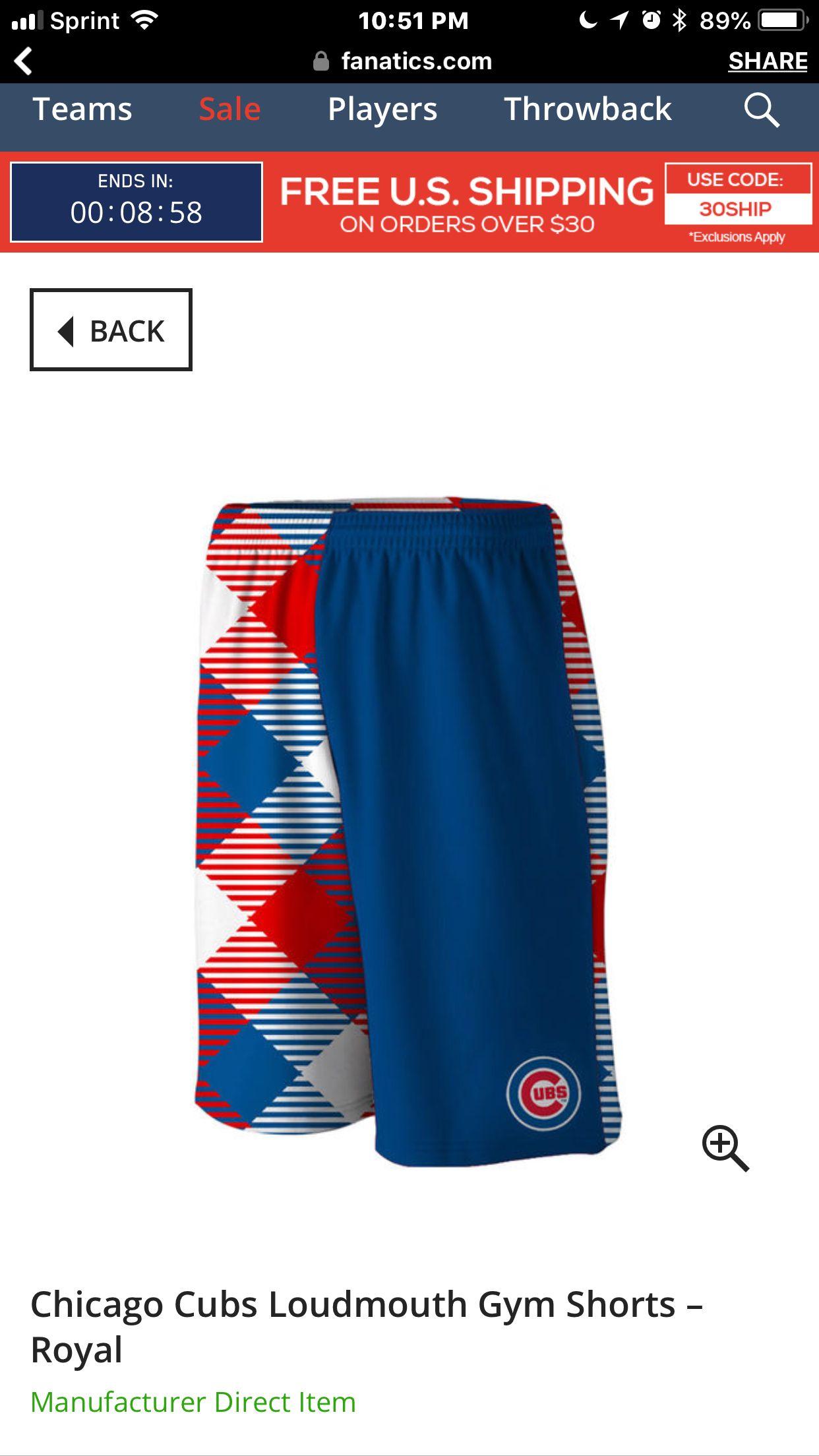 Medium gym shorts fashion shorts