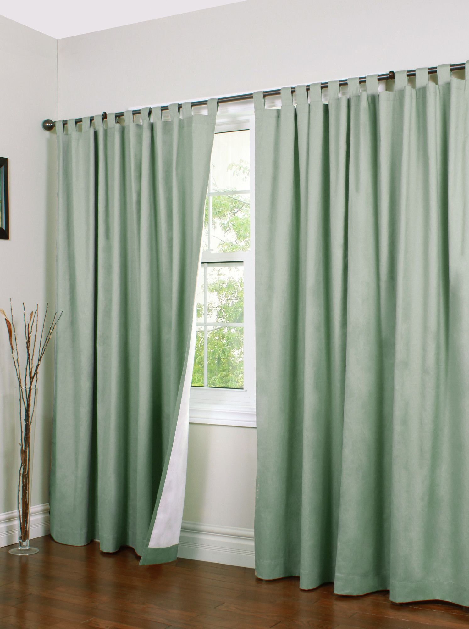 Mcgowen Solid Room Darkening Thermal Tab Top Curtains Panel