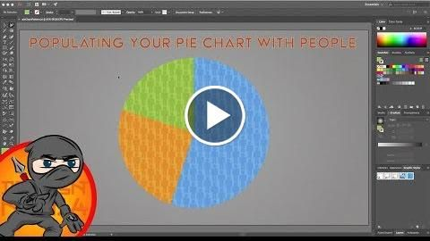 Infographic Design for Pie Charts in Illustrator  http://videotutorials411.com/infographic-design-for-pie-charts-in-illustrator/  #Photoshop #adobe #lightroom #graphicdesign #photography
