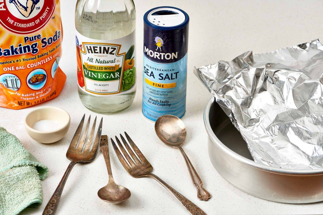 The Best Way to Polish & Clean Silver 4 Home Remedy