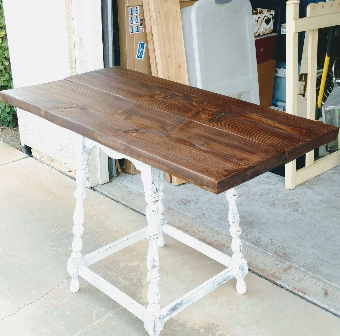 Mini Farmhouse Table For Sale Perfect For A Small Space Would