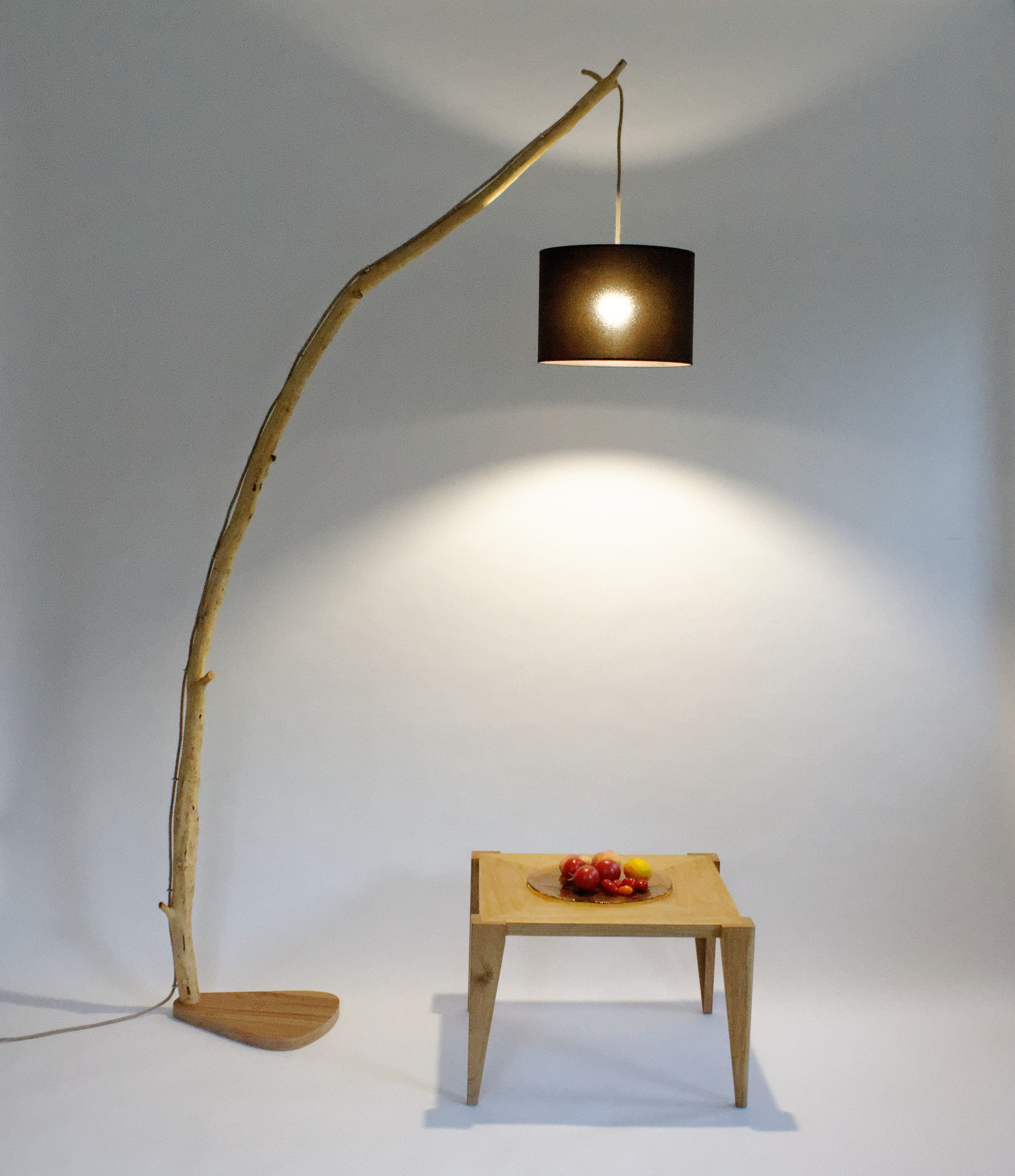 Floor Lamp From An Old Oak Branch Xxiii Lamp Above The Table Arc Lamp Eco Lamp Nature Design In 2020 Unique Floor Lamps Floor Lamp Arc Lamp