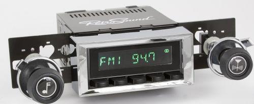 Retro Sound Zuma In Dash Radio Kit 1971 80 Scout 800 International Fit Radio Radio Classic Cars
