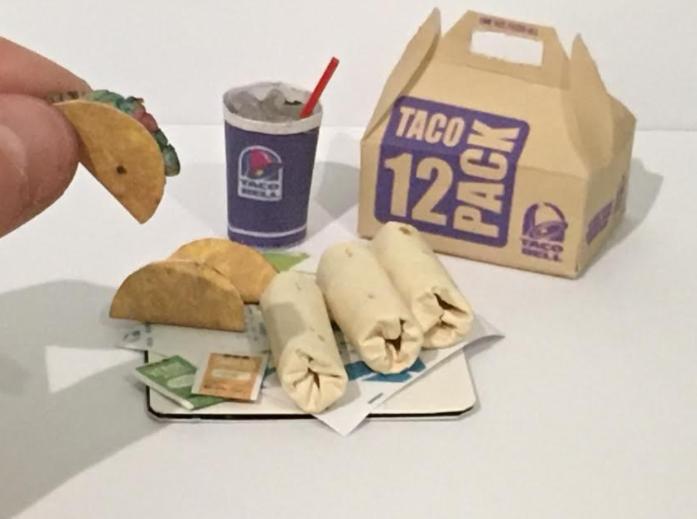 Mini Taco Bell Mini Tacos Food Taco Bell