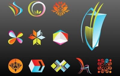 Colorful Abstract Versatile Logo Pack Template