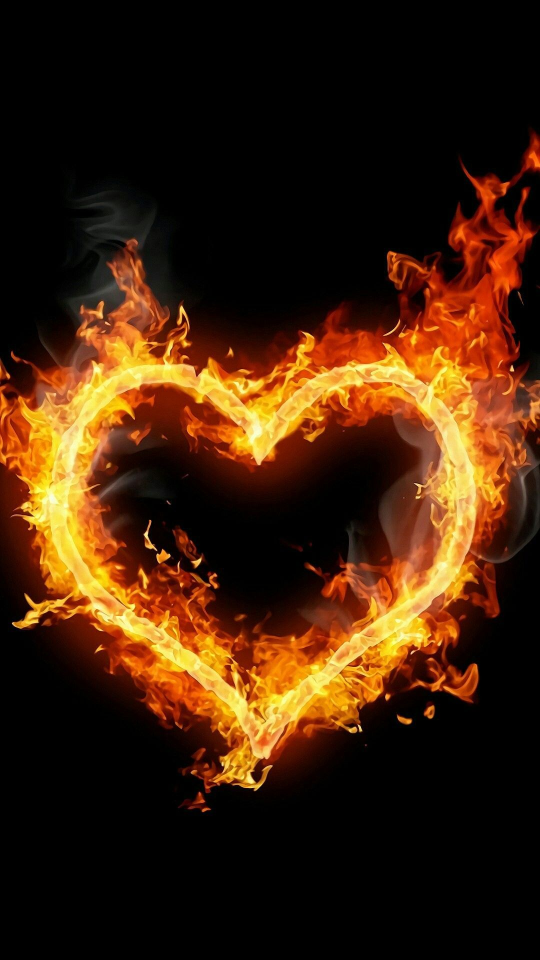 Fire Heart Images Love Is Iphone Wallpapers Happy Thoughts Wall Papers Awakening Hunger Games Letter