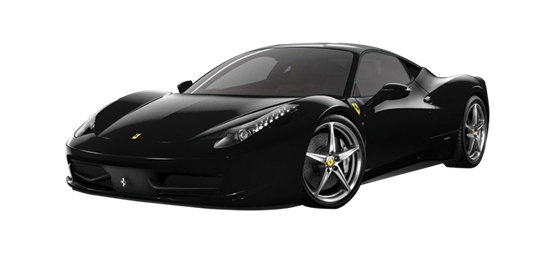 Black Ferrari Car Png Image Ferrari Car Luxury Cars Range Rover Car