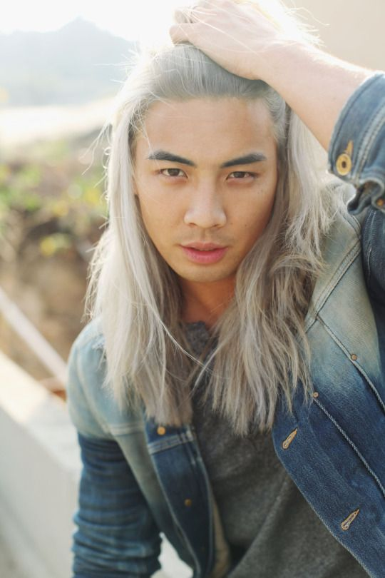 Blonde Asian Man : blonde, asian, Peippo, (Yoshi, Surdarso), Blonde, Asian,, Hairstyles,, Character, Inspiration