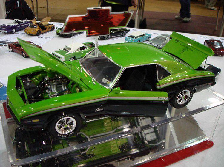 Camaro Big Scale Model cars kits, Plastic model cars