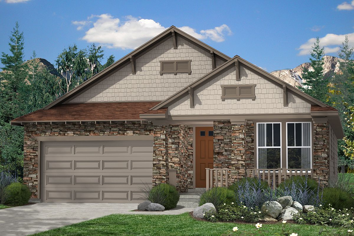 Trailside Patio Homes, A KB Home Community In Thornton, CO (Denver)