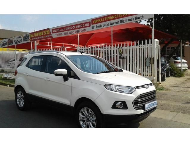 For Sale  White Ford Ecosport Titanium R Johannesburg Search The Widest Range Of Ford Ecosports On The Number  Website In South Africa