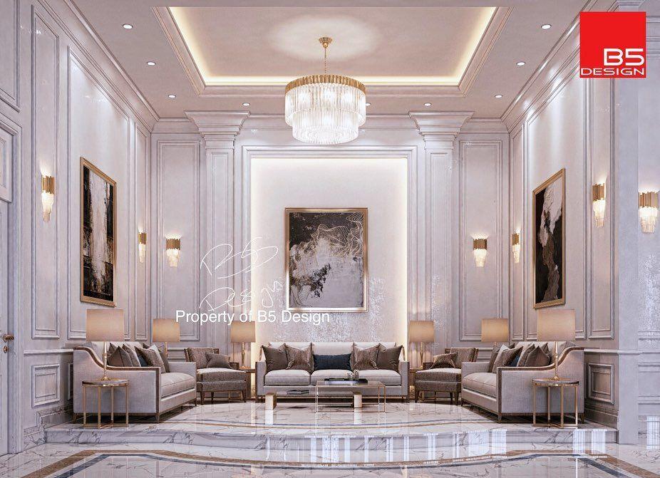 New Classic Entrance Hall Design For A Private Villa At Doha Qatar تصميم صالة مدخل بفيلا خاصة بالدوح Unique Home Decor Home Decor Accessories Interior Design