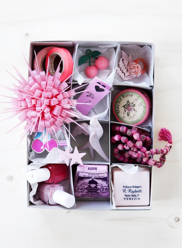 Nice Gift Idea Small Boxes Divide Up A Big Box And Fill Up The