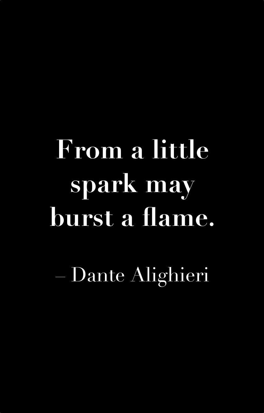 Dantes Inferno Quotes DanteAlighieri #spark #flame #quote #uniqueattire | Keep this in  Dantes Inferno Quotes