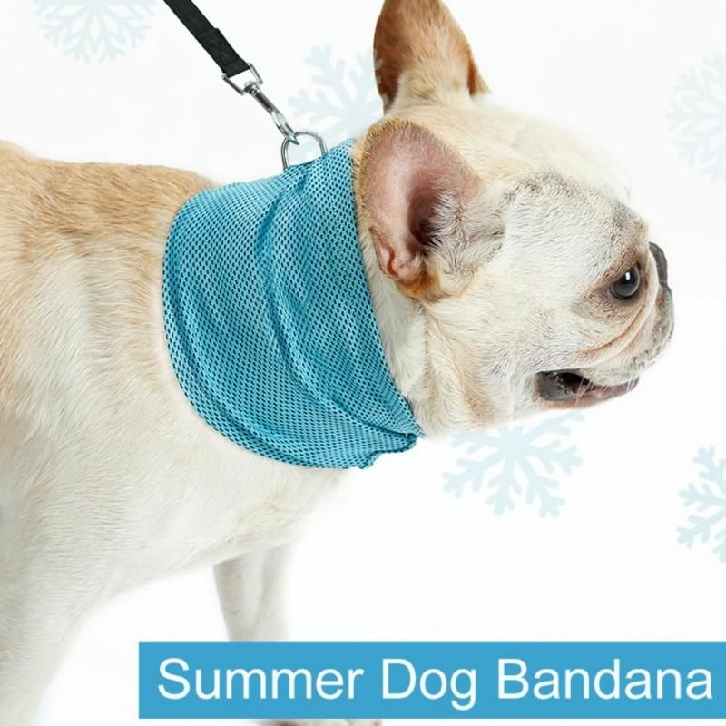 Instant Cooling Dog Scarf Collar Dog Collar Bandana Cool Dog
