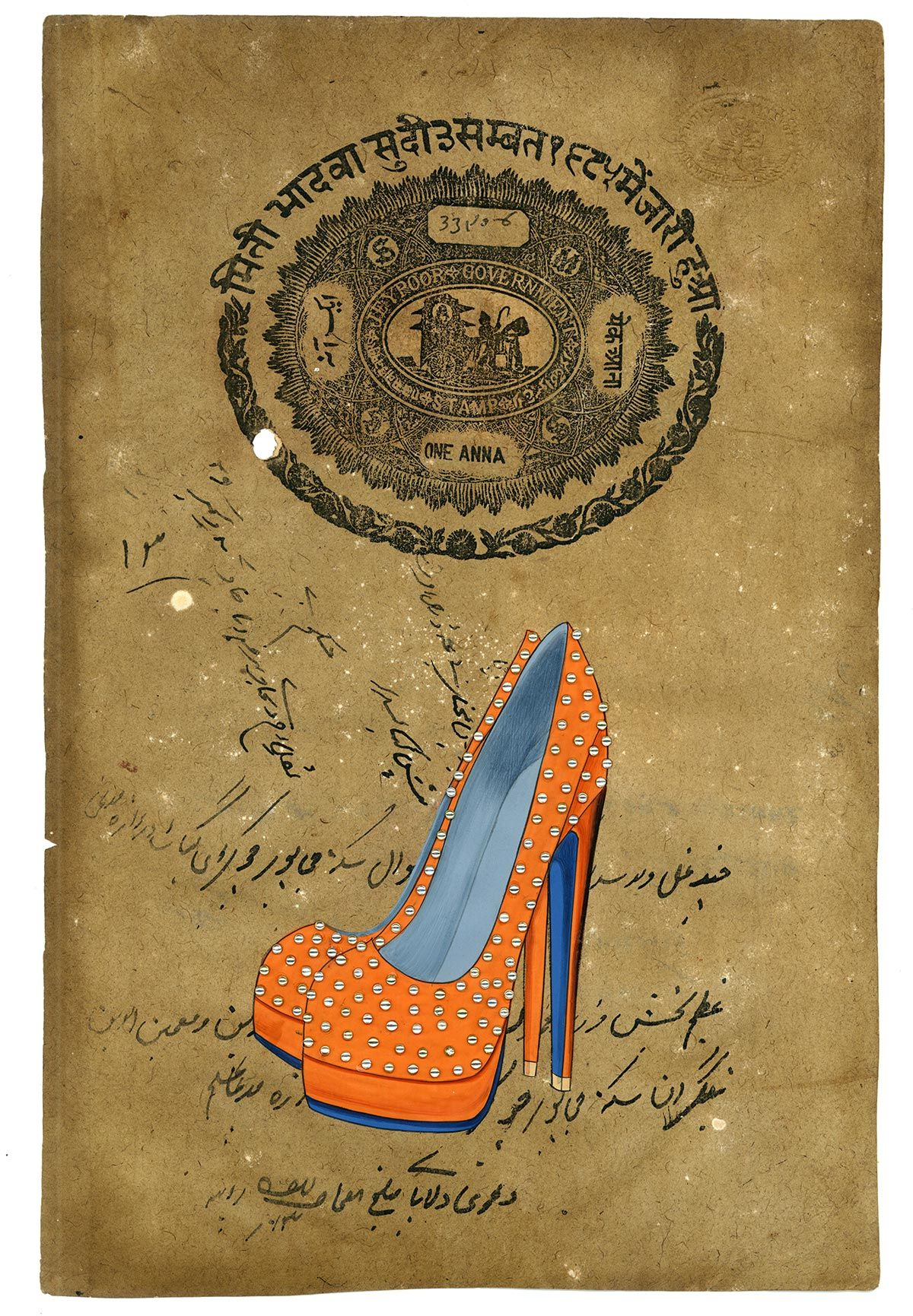 Cuadros de zapatos de mujer para decoración de tiendas. | Lugares ...