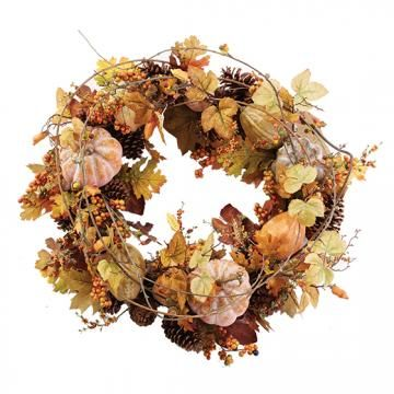 Bountiful Harvest Wreath from Home Decorators Картинки Pinterest