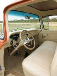 1959 Chevy Apache Interior With Images Classic Chevy Trucks