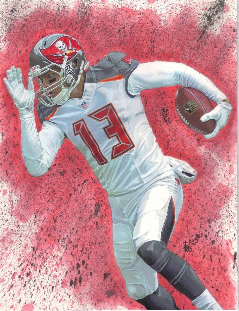 It S Hard To Draw In A Straight Jacket Nfl Football Art Football Art Tampa Bay Bucs