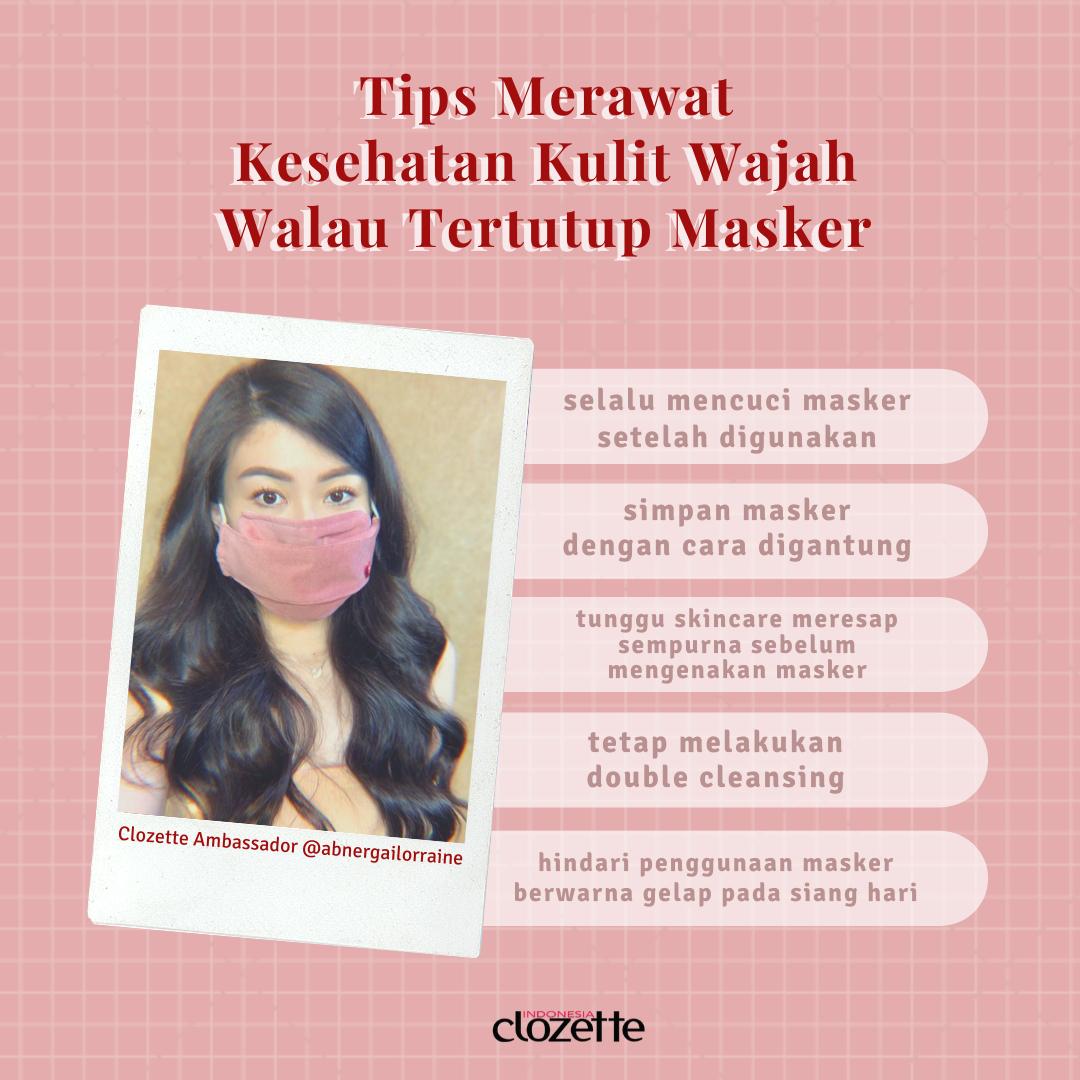 Tips Merawat Kulit Wajah Walau Tertutup Masker Kulit Perawatan Kulit Diy Perawatan Kulit