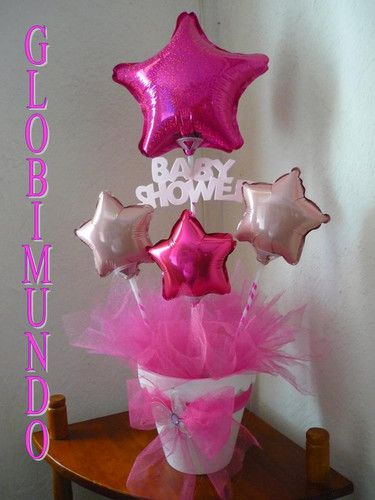 Centro de mesa baby shower globimundo mony for Centro de mesa baby shower