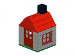 How To Build A Lego Small House Lego House Small House Lego