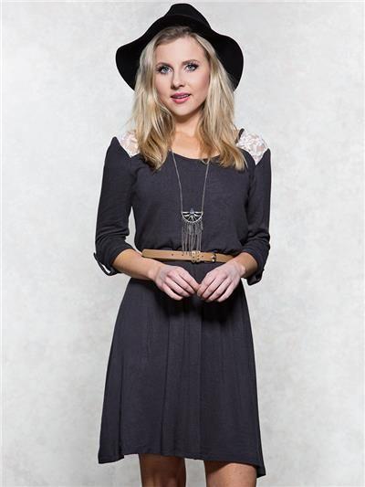 Lace dress vanity