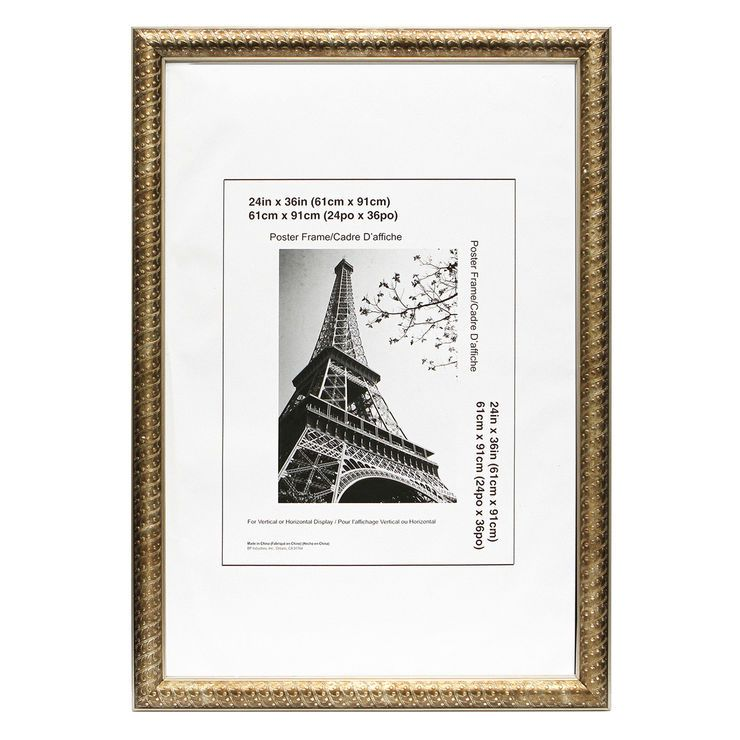 24 X 36-in Gold and Bronze Ornate Lauren Poster Frame | accessories ...