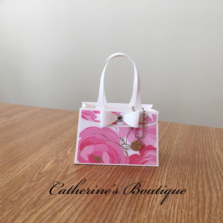Shopping Bag Pink Flowers