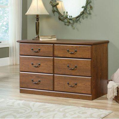 Charlton Home Orchard Hills 6 Drawer Dresser