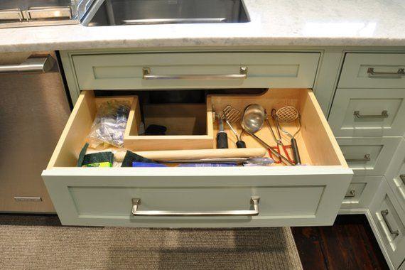 Clever Solutions For Under Kitchen Sink Storage Plumbing Workaround Under Kitchen Sink Organization Under Kitchen Sink Storage Under Kitchen Sinks