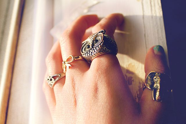 rings By M I S C H E L L E at flickr