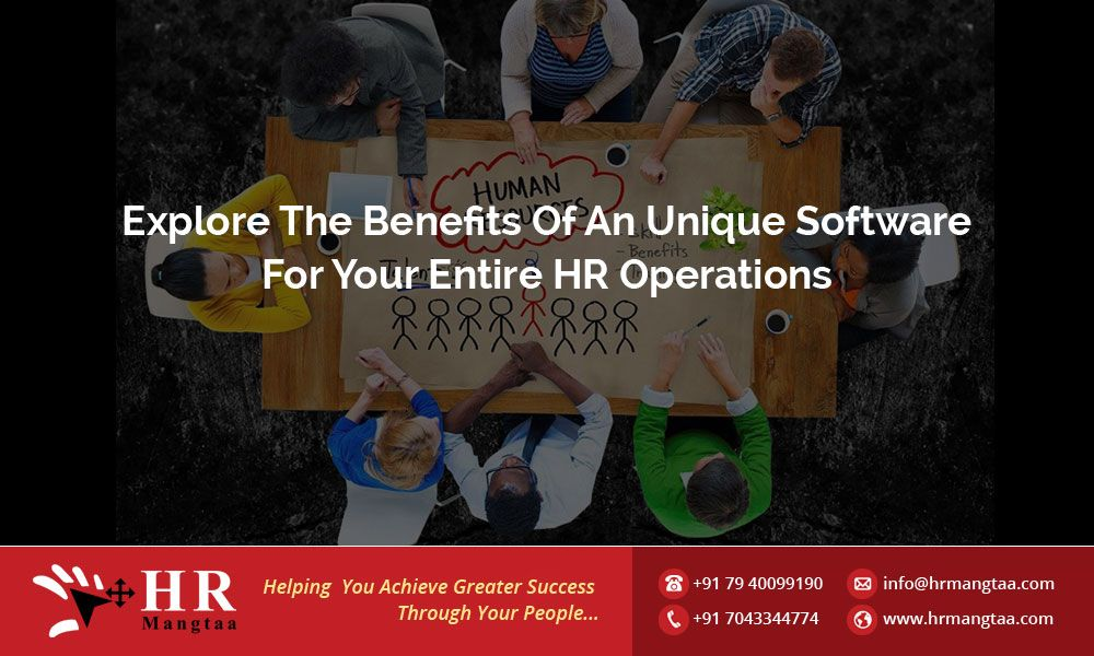 Explore the benefits of an unique software for your entire HR