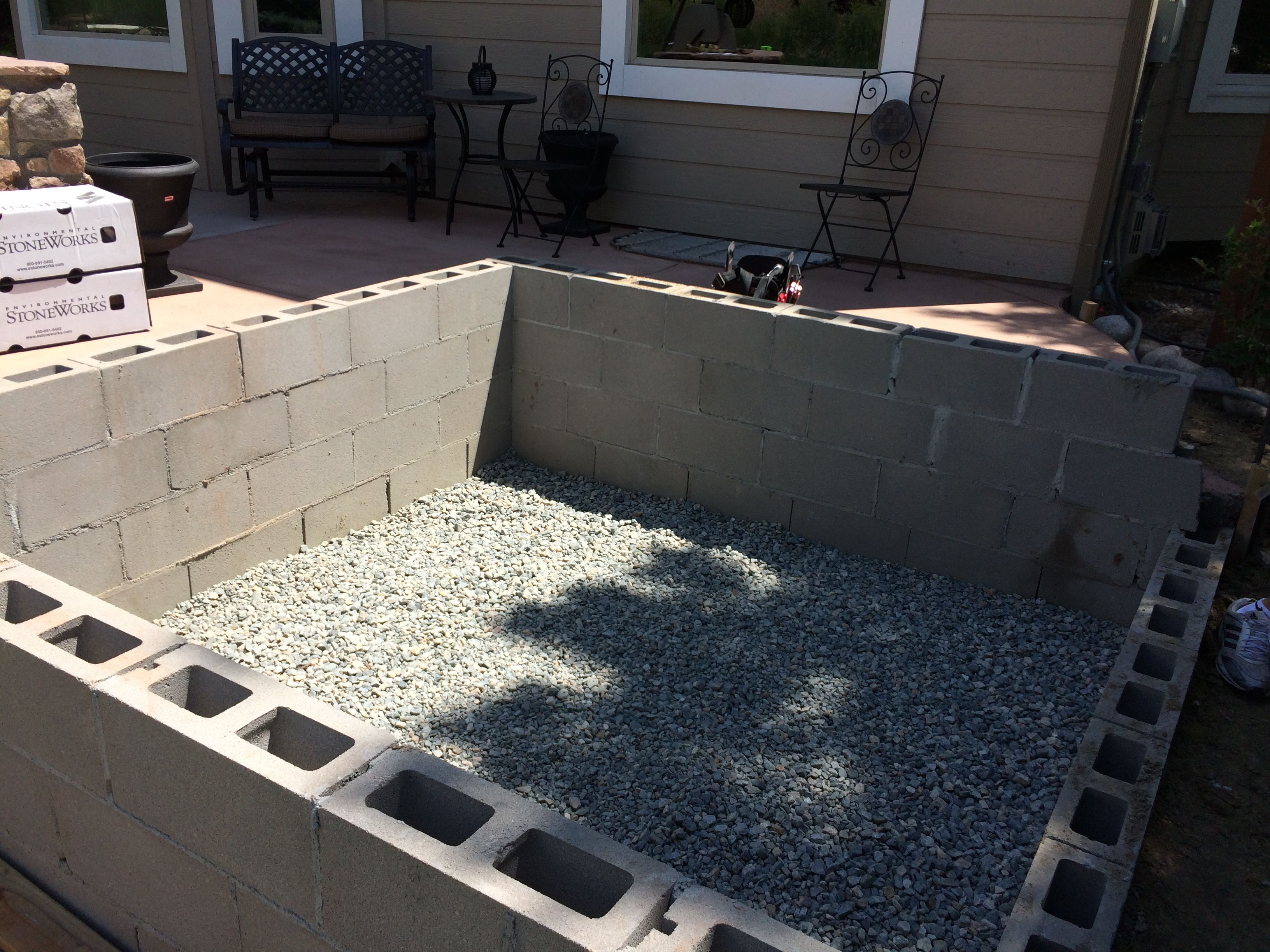 Custom hot tub vault partially above ground www - Custom above ground pool ...