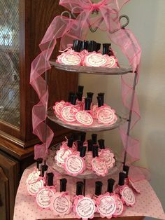 50 Shades Of Pink Baby Shower Party Favors Baby Shower Baby