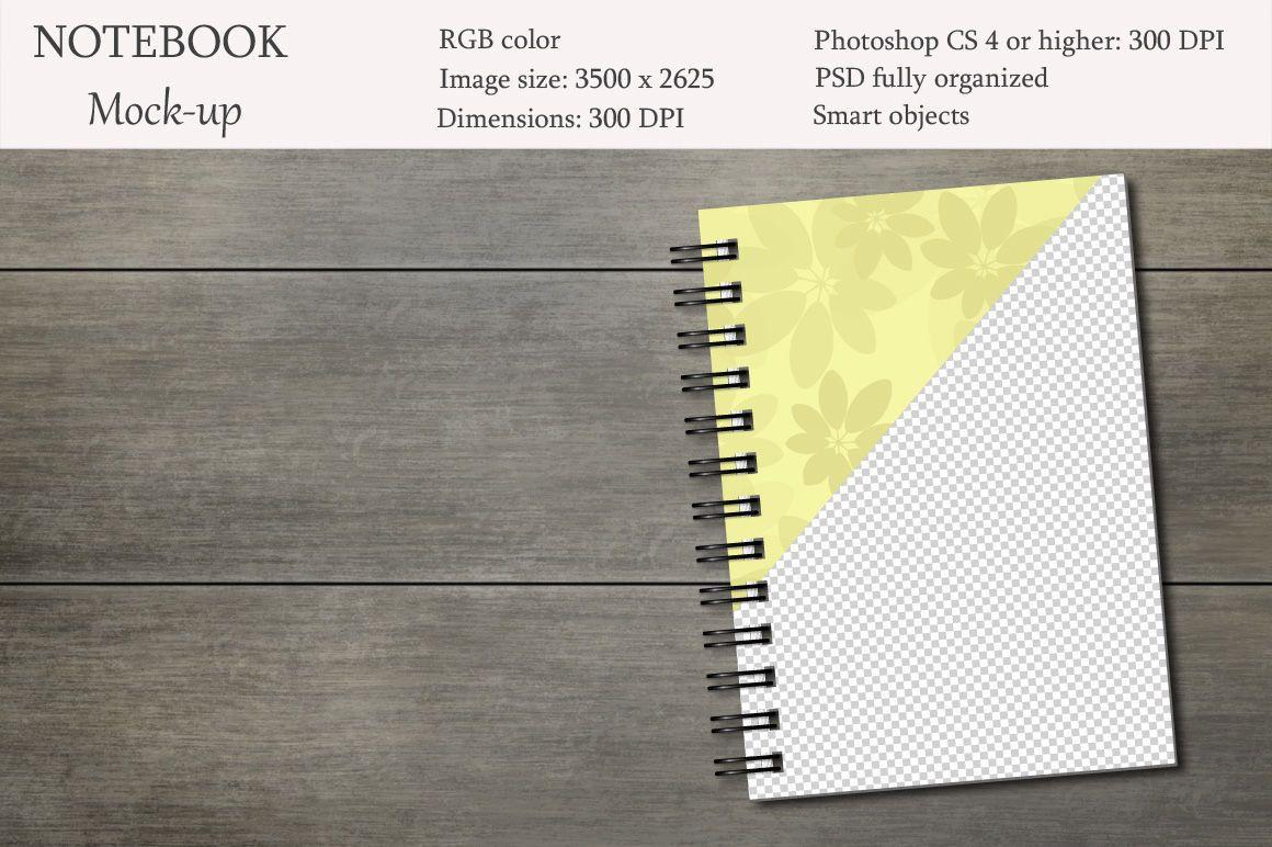 Notebook Mockup Sketchbook Mockup By Natalydesign Thehungryjpeg Com Mockup Ad Notebook Sketc Mockup Free Psd Free Logo Mockup Psd Psd Mockup Template
