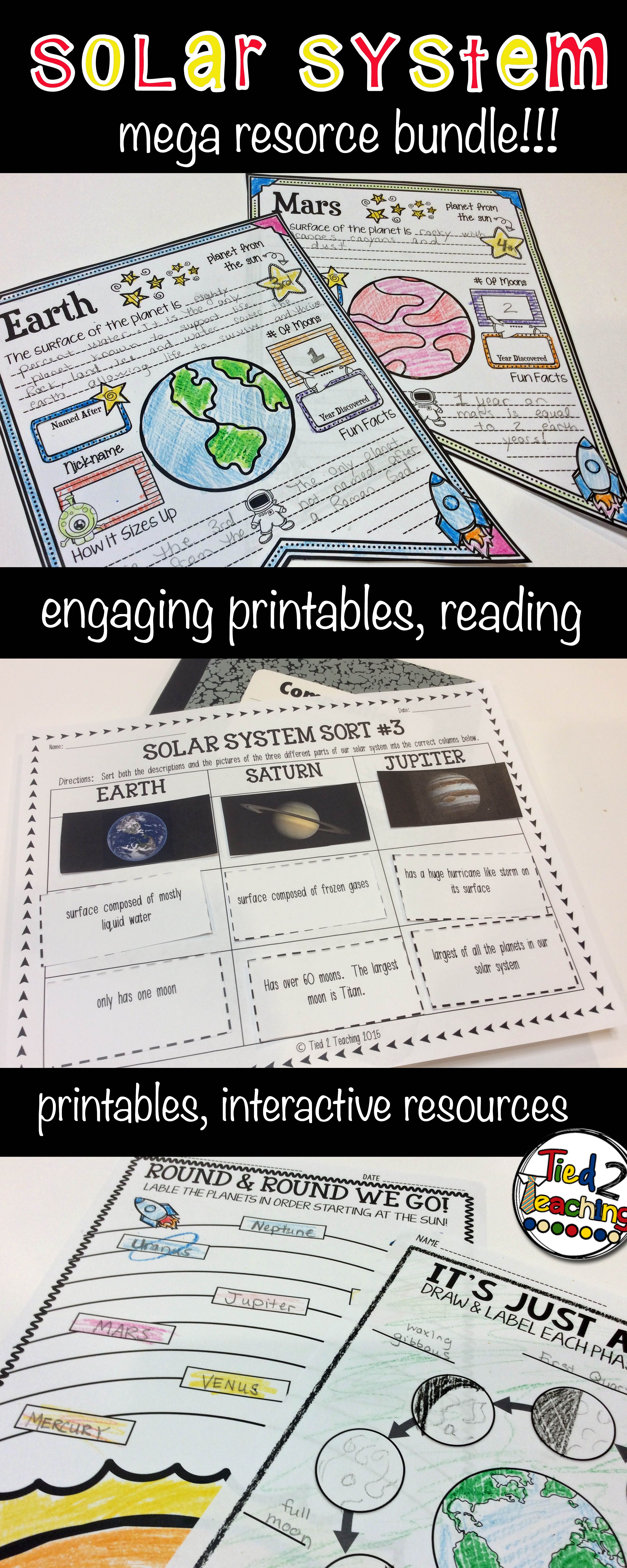 Solar System Unit Bundle With Space Science Collaborative