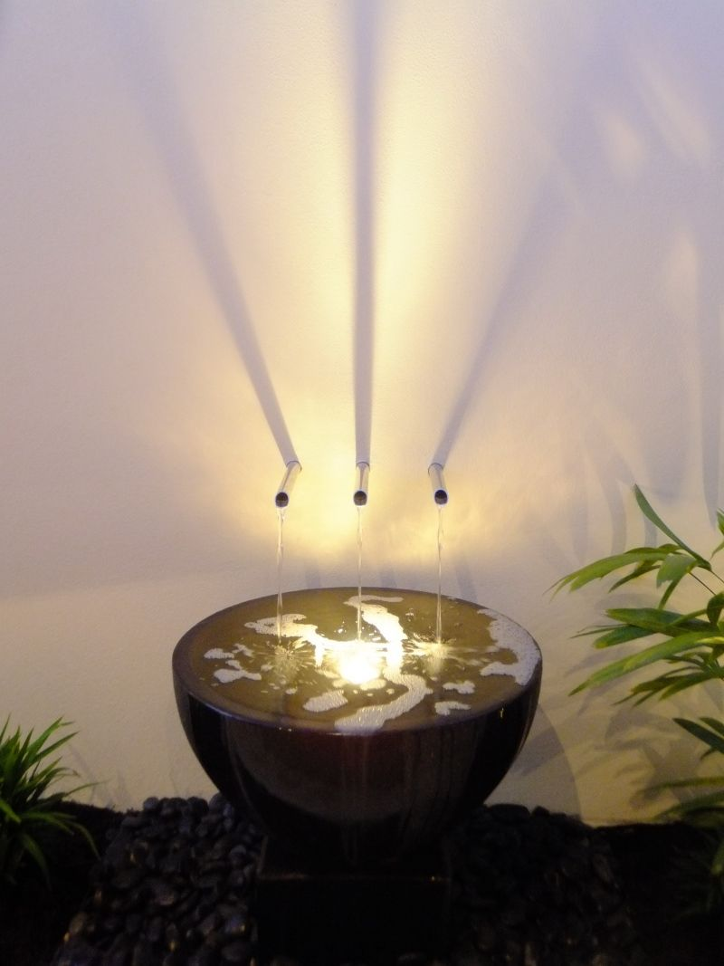 Bowl water feature | Agua en el jardín | Pinterest | Water features ...
