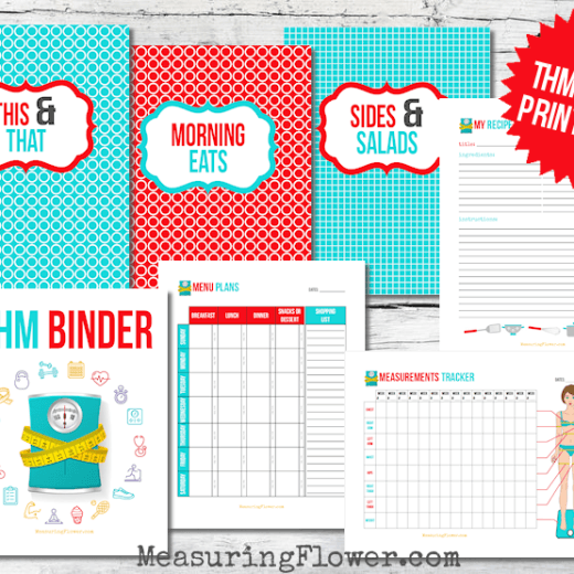 Free Trim Healthy Mama Binder Printables