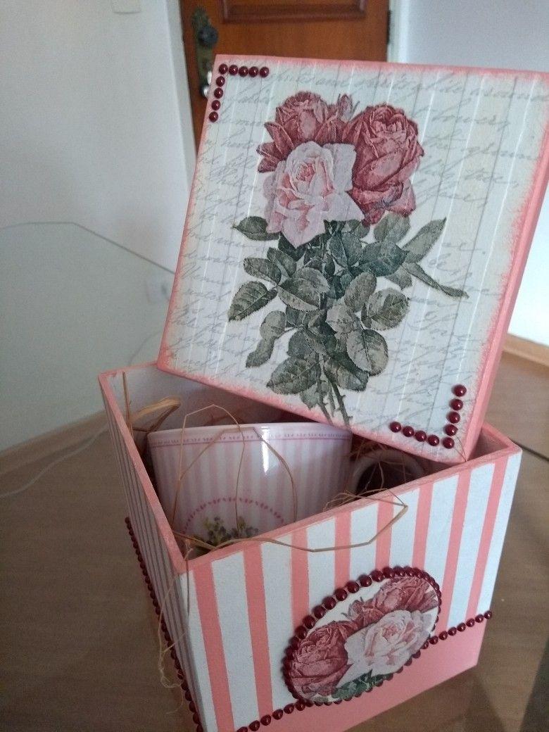 Pin De Moyra Tejerina En Decupage Pinterest Cajas Cajas  # Muebles Tejerina