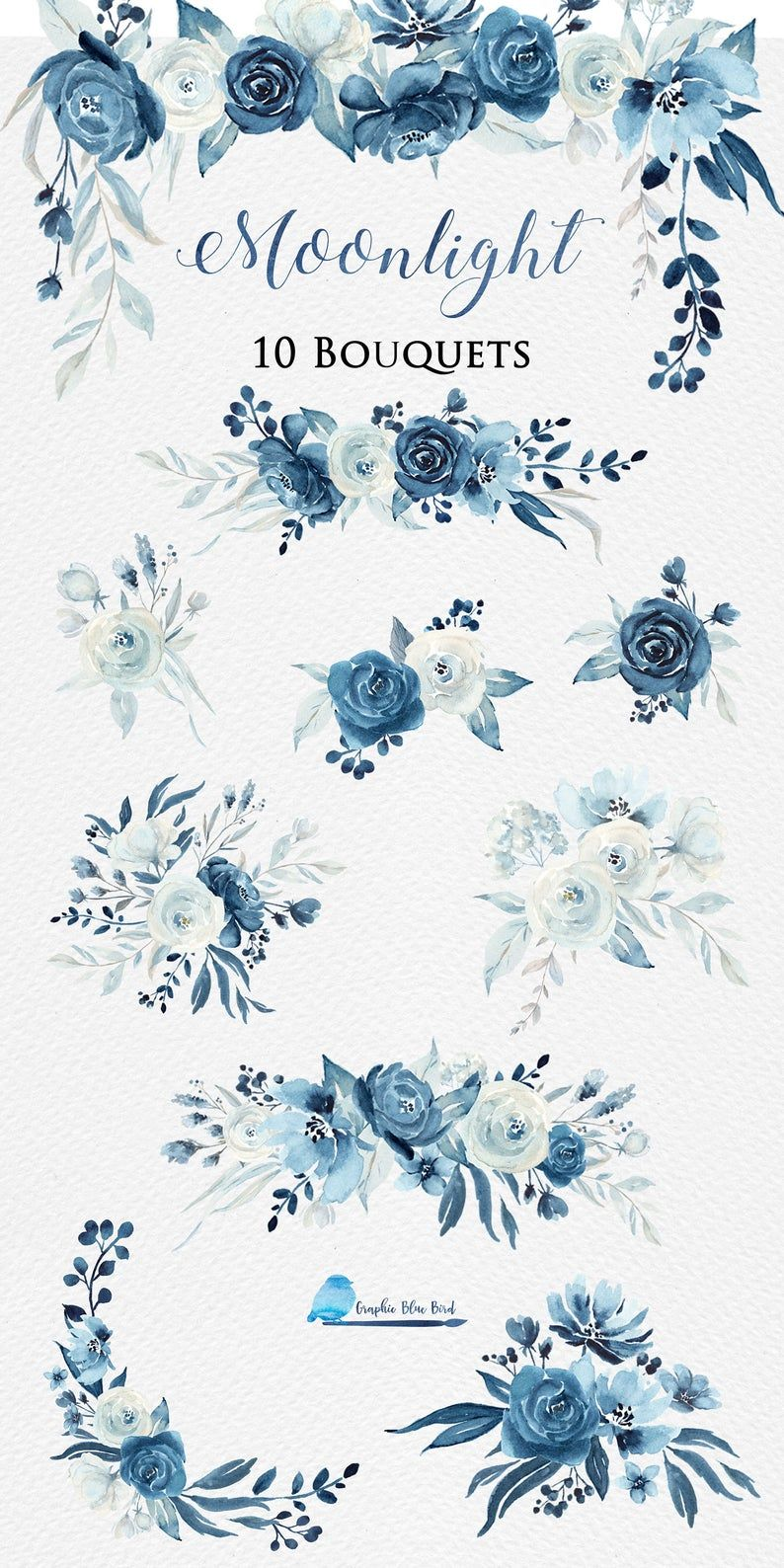 ALEXA, Navy and White, T4920, Collection Jubilee from