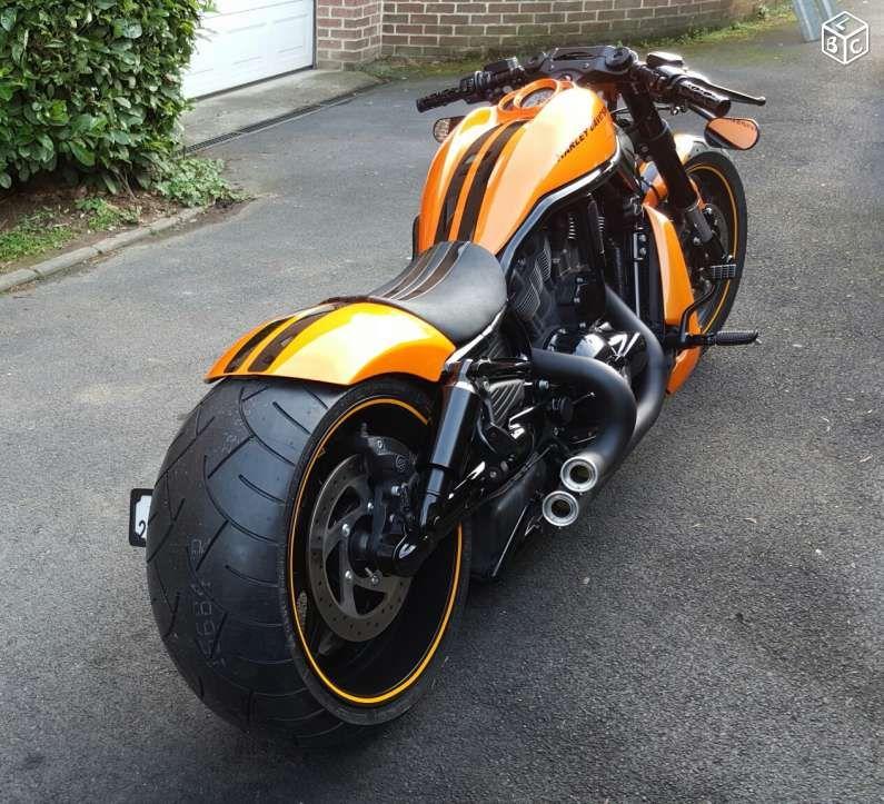 harley night rod maxi show bike pneu 300 jante 11 motos aisne monster bike. Black Bedroom Furniture Sets. Home Design Ideas