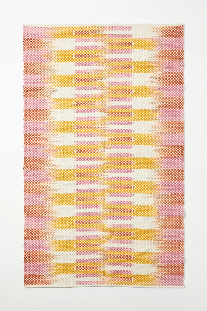 Flatwoven Augusta Rug Anthropologie In 2020 Flatwoven Area Rug Pad Natural Fiber Rugs