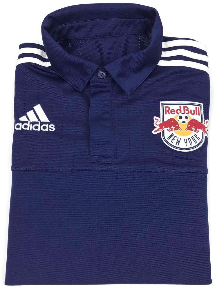 e944d264f Adidas New York Red Bulls Jersey Small Mens Home ClimaLite MLS Soccer Size  Sz S  adidas  NewYorkRedBulls