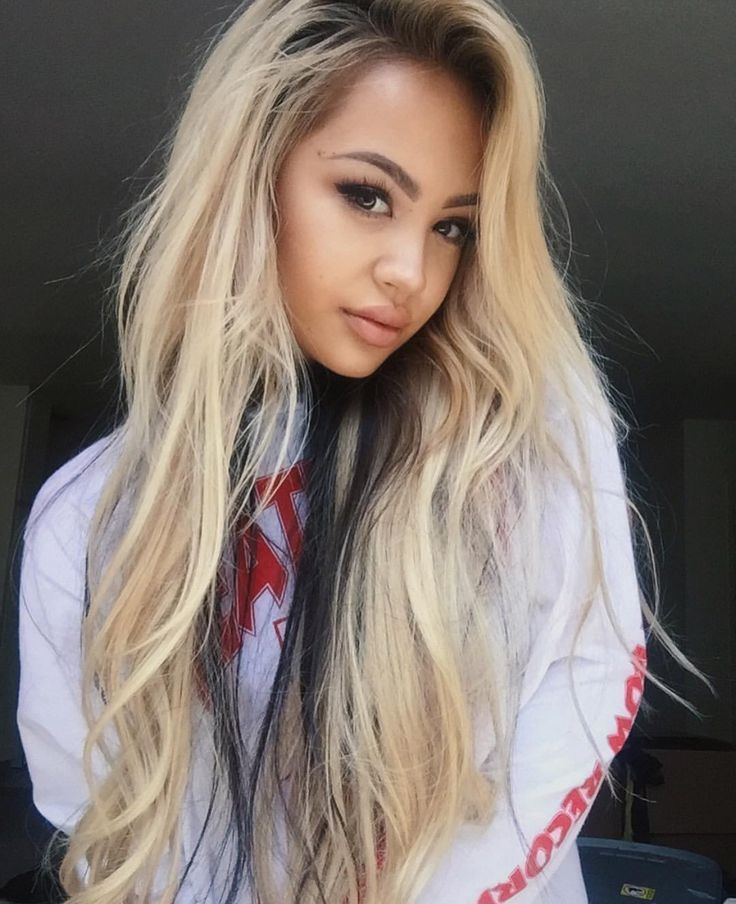 Sexy blonde asian